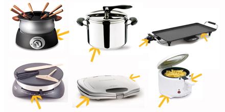 Où se trouve la plaque signalétique de mes appareils culinaires ?